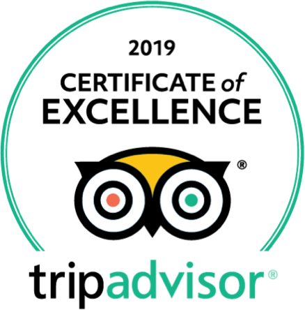 TripAdvisor - 2019 Certificate of Excellence